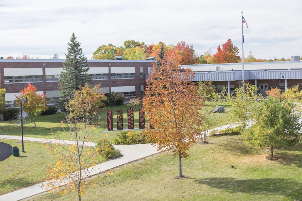 campus outside