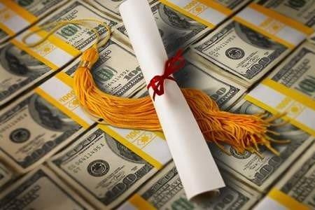 financial aid dollars with diploma