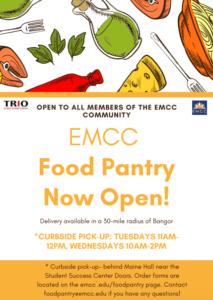 food pantry flyer